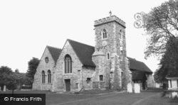 Willesden, St Mary's Church c.1965