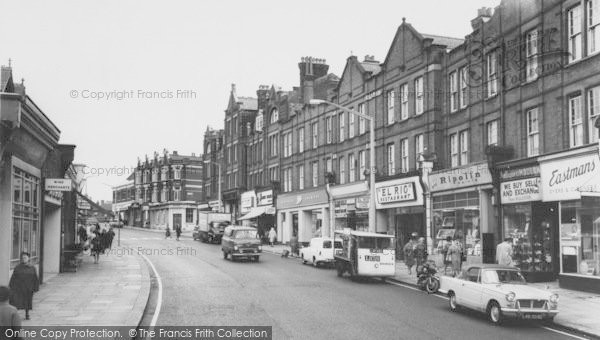 Photo of Willesden, Walm Lane c.1965