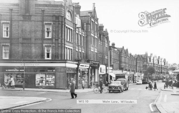 Photo of Willesden, Walm Lane c.1965