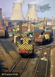 Willesden Junction, Railway Marshalling Yard c.1990, Willesden