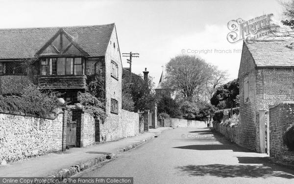 Photo of Willingdon, Church Street c.1955