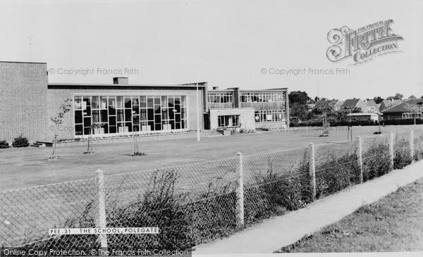 Photo of Willingdon, County Secondary School c.1965