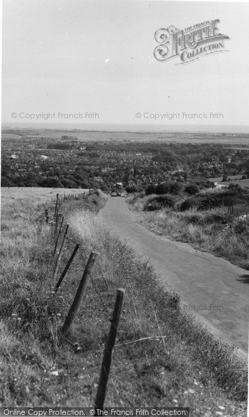 Photo of Willingdon, Road To The Downs c.1960