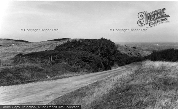 Photo of Willingdon, The Downs Above c.1960