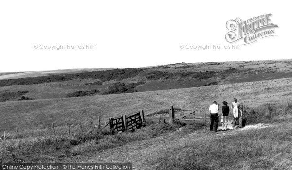 Photo of Willingdon, The Downs c.1960