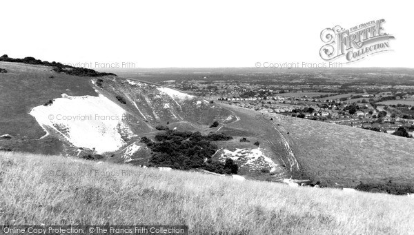 Photo of Willingdon, The Downs c.1965