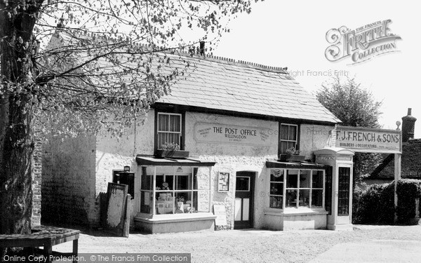 Photo of Willingdon, The Post Office c.1955