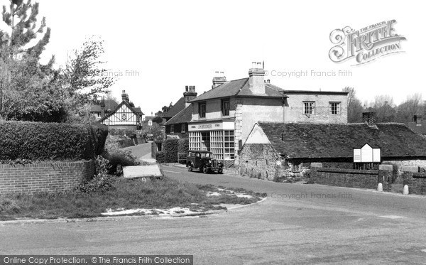 Photo of Willingdon, The Village c.1955