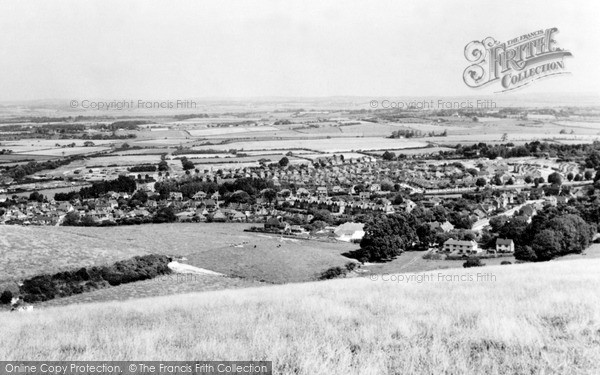 Photo of Willingdon, View From The Downs c.1965
