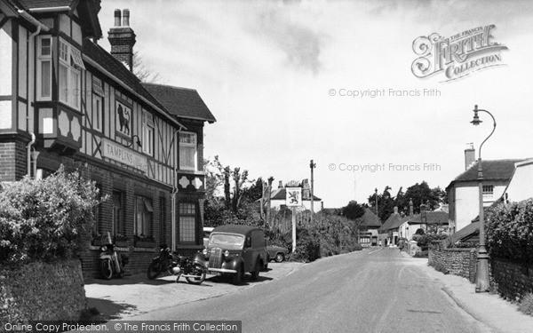 Photo of Willingdon, Wish Hill c.1955
