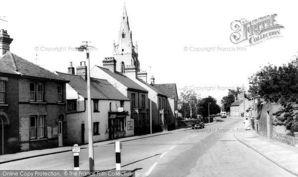 Photo of Willingham, Church Street c.1960