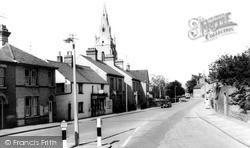 Church Street c.1960, Willingham