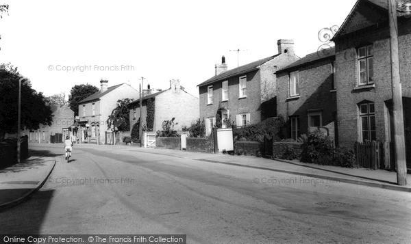 Photo of Willingham, Church Street c.1965