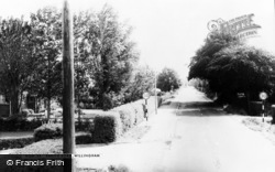 Earith Road c.1965, Willingham