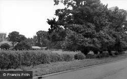 Willingham, Gainsborough Road c.1960, Willingham By Stow
