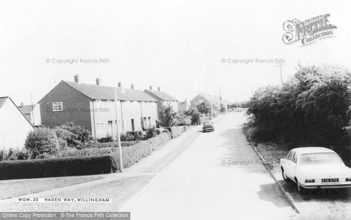 Photo of Willingham, Haden Way c.1965