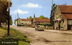 Willingham, High Street c.1955, Willingham By Stow