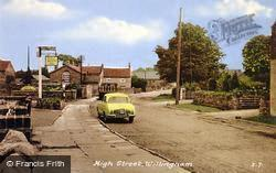 Willingham, High Street c.1960, Willingham By Stow