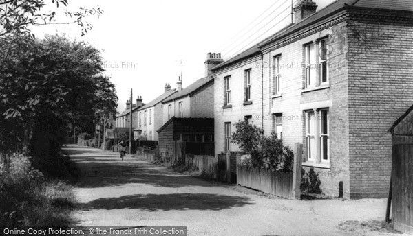 Photo of Willingham, Mill Road c.1955