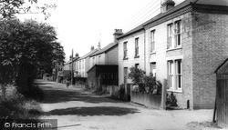 Willingham, Mill Road c.1955
