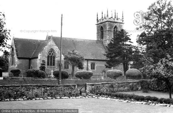 Photo of Willingham, St Helen's Church c.1960