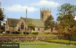 Willingham, St Helen's Church c.1960, Willingham By Stow