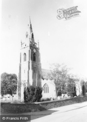 St Mary's And All Saints Church c.1960, Willingham