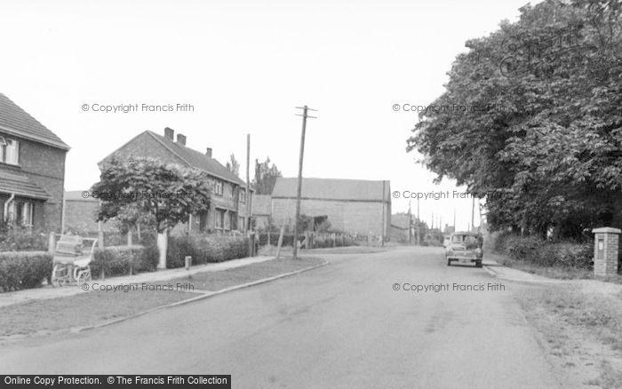 Photo of Willingham, Stow Road c.1960