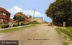 Willingham, Stow Road c.1960, Willingham By Stow