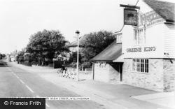 Willingham, The Black Bull And High Street c.1960