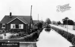 The Pond And Rampton Road c.1965, Willingham