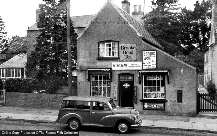 Photo of Willingham, The Post Office c.1960