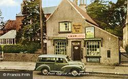 Willingham, The Post Office c.1960, Willingham By Stow