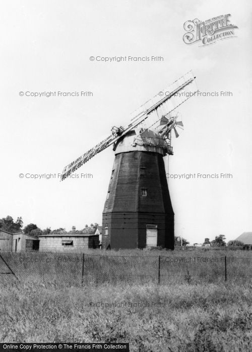 Photo of Willingham, The Windmill c.1955