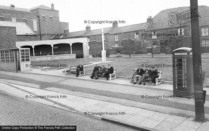 Photo of Willington, Albion Square c.1955