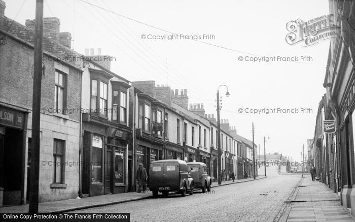 Photo of Willington, Commercial Street c.1955