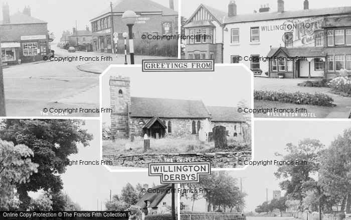 Photo of Willington, Composite c.1960