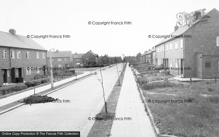 Photo of Willington, Hall Lane Estate c.1955