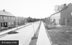 Hall Lane Estate c.1955, Willington