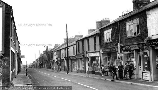 Photo of Willington, High Street 1962