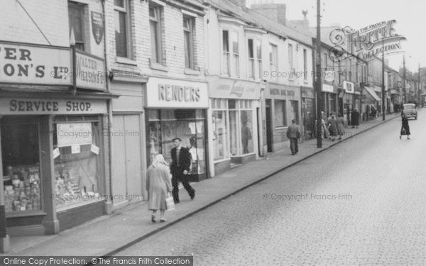 Photo of Willington, High Street c.1955