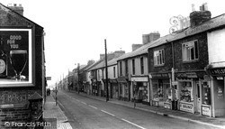 High Street c.1960, Willington
