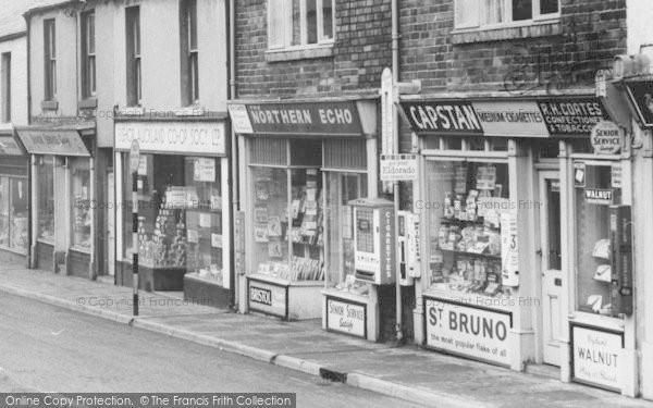 Photo of Willington, High Street Newsagents c.1960