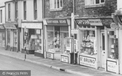 High Street Newsagents c.1960, Willington
