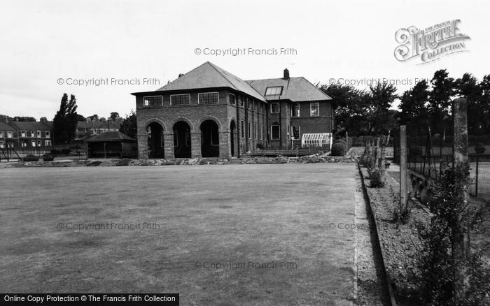 Photo of Willington, Miners Welfare And Bowling Green c.1955