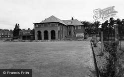 Miners Welfare And Bowling Green c.1955, Willington
