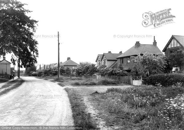 Willington, Oaks Lane c1955