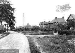 Oaks Lane c.1955, Willington