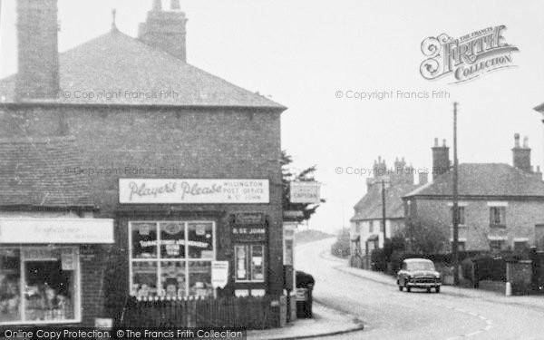 Photo of Willington, Post Office c.1955