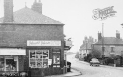 Willington, Post Office c.1955